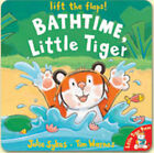 Bathtime, Little Tiger by Julie Sykes (Board book, 2003)