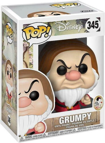 Disney Snow White and the seven Drafs Vinyl Figur Funko Pop! Grumpy 345