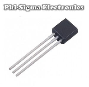 Transistors - BC547B, BC548B, BC549B, BC327, BC337, BC556B, BC557B (Pack of 10)