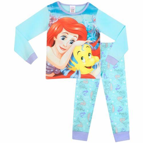 Little Mermaid PyjamasGirls Ariel PyjamasDisney Princess Ariel Pj/'sNEW