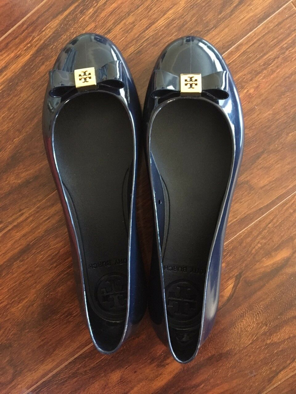 NWB- Tory Burch Jelly Bow Ballet Flat Size 6