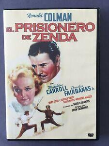 DVD-EL-PRISIONERO-DE-ZENDA-Ronald-Colman-Madeleine-Carroll-Douglas-Fairbanks