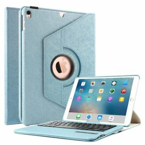 For iPad Pro 10.5 Case with Keyboard Rotating Stand