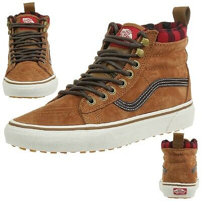VANS Classic SK8-HI MTE Damen Winter Sneaker Schuhe braun VXH4DX3