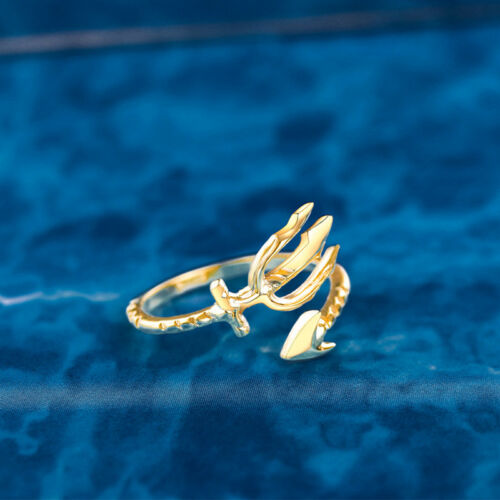 Aquaman Trident Ring 925 Silver cosplay Cadeau Bijoux Taille 6//7//8
