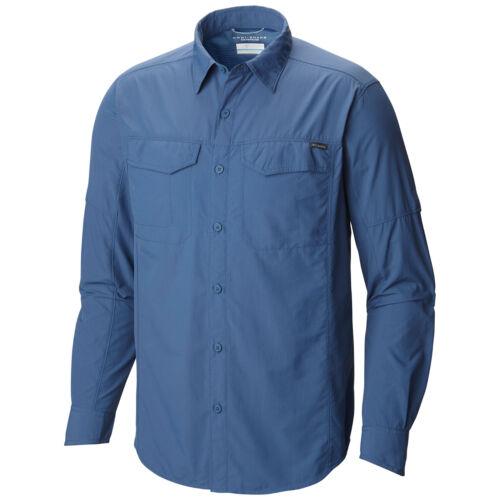 "New Mens Columbia /""Silver Ridge/"" Vented Omni-Wick Long Sleeve Shirt"