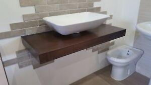 Bagno Legno Massello : Mobile bagno su misura in legno massello 100 cm ebay