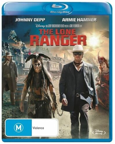 1 of 1 - The Lone Ranger [2013] BRAND NEW BLU RAY johnny depp