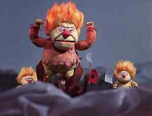 heat miser the year without santa claus 1974 tv movie 8x10 color photo wow ebay. Black Bedroom Furniture Sets. Home Design Ideas