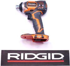 RIDGID 18v 18 VOLT X4 LITHIUM CORDLESS IMPACT DRIVER GUN BARE TOOL R86034