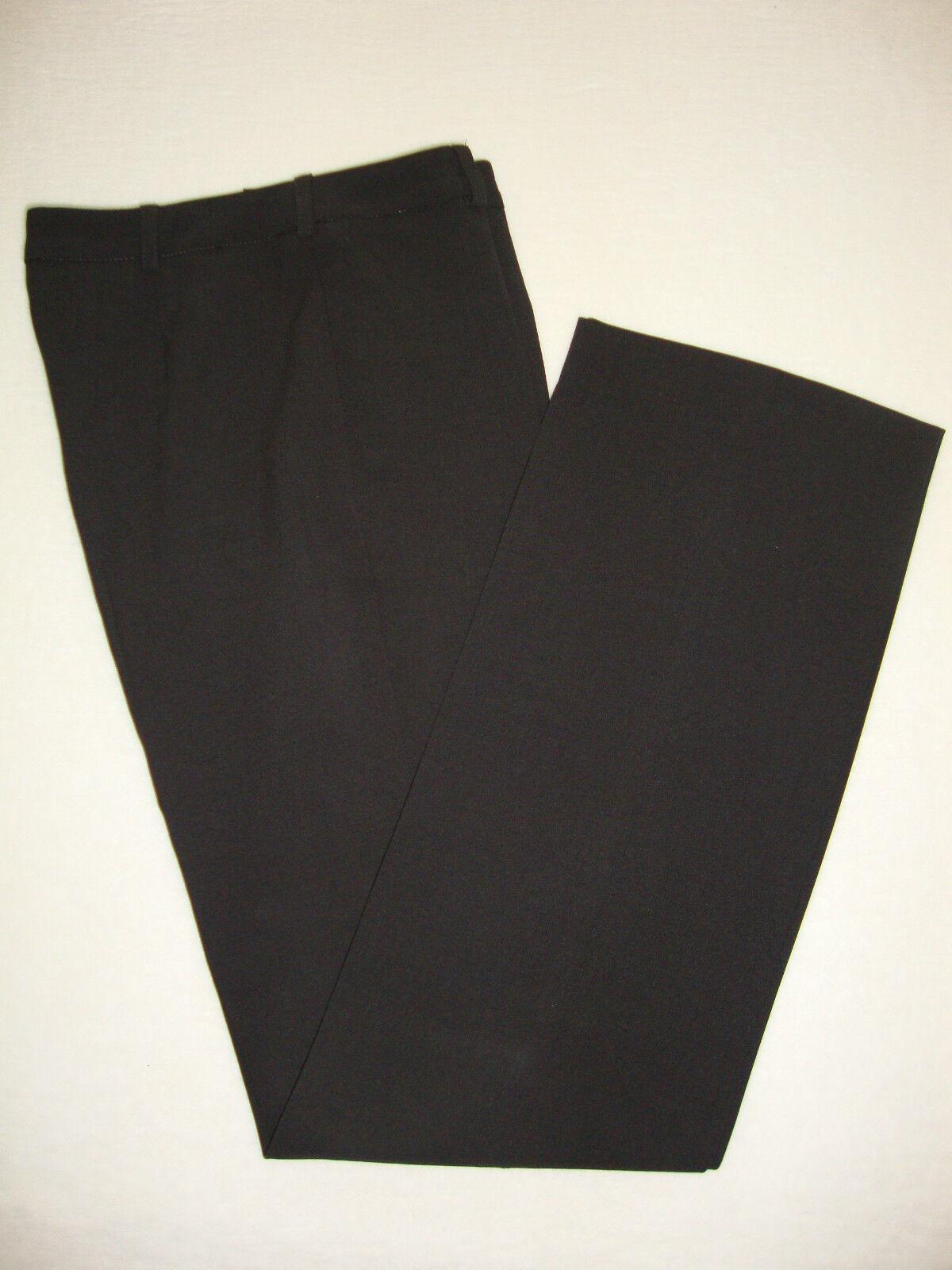 Armani Collezioni Damenhose Hose mit Bügelfalte dunkel braun Gr.34 NEU NP