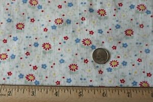 """Vintage c1920-1940 Cotton Feedsack Fabric~Small Doll Scale~L-32"""" X W-14"""""""