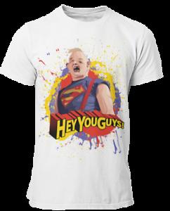 The Goonies Kids Boys Film Movie Funny Fratellis Superman Retro Sloth T Shirt 1