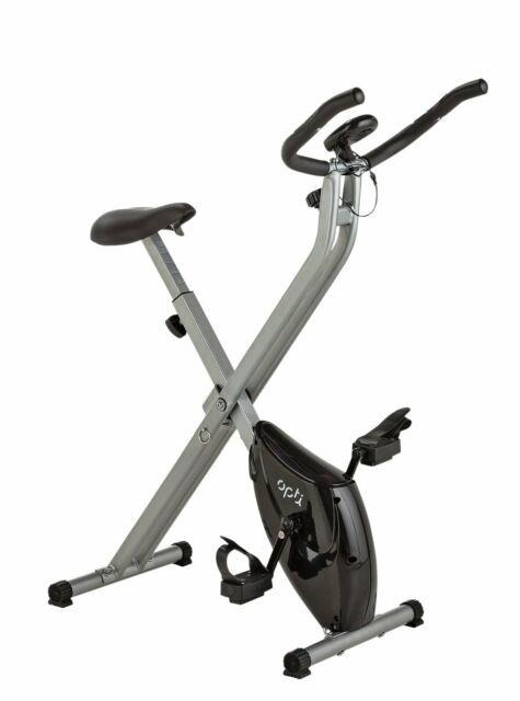 Opti Folding Magnetic Resistance Adjustable Exercise Bike