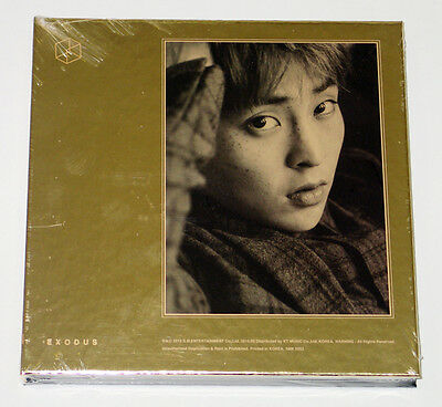 EXO - EXODUS (Vol. 2) [Korean Ver] CD+Booklet+Poster+Gift Photo [XIUMIN ver.]
