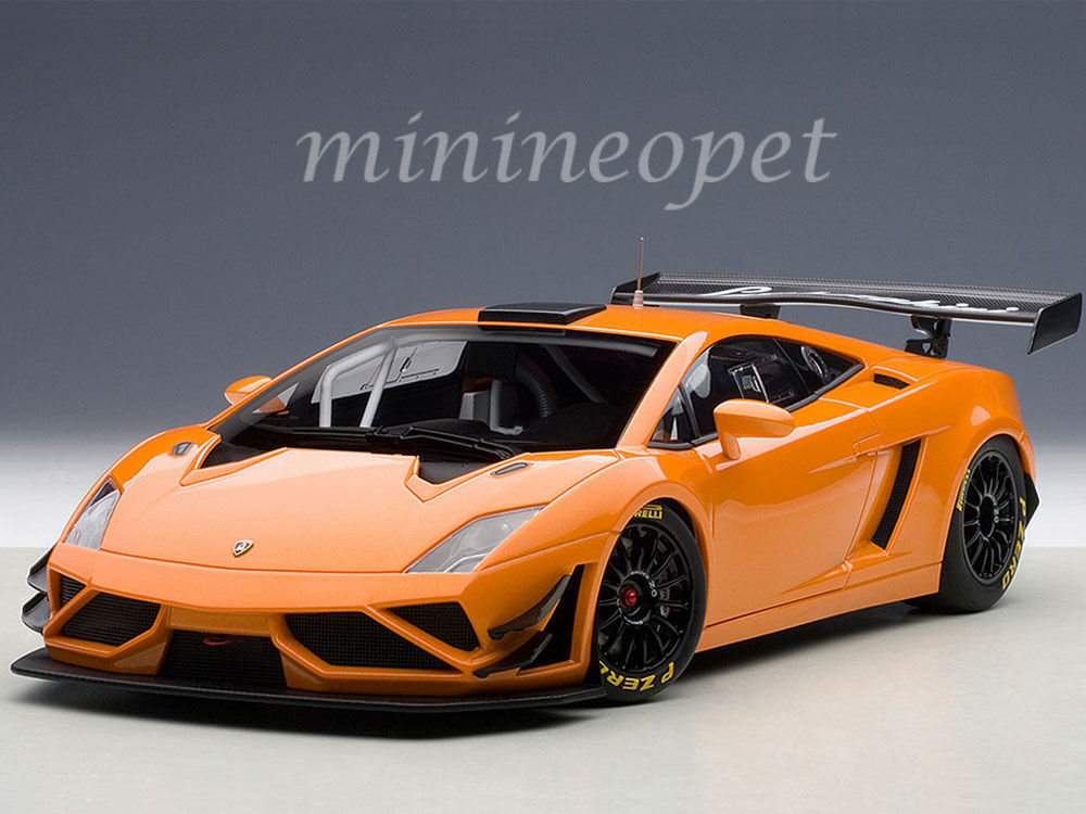 1 18 Autoart Lamborghini Gallardo gt3 fl2 2013 Orange -