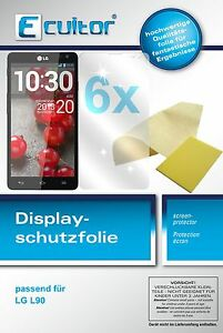 6x-Ecultor-LG-L90-screen-protector-protection-guard-crystal-clear