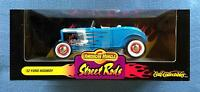 1932 Ford Highboy Street Rods 1:18 Die Cast Car American Muscles Ertl 32 Blue
