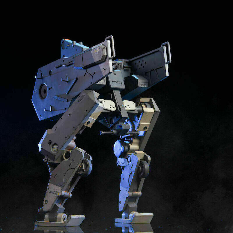 1 12 D fantasma pcJuguetes Walker guerra doublefoot Mech armadura Modelo Movible