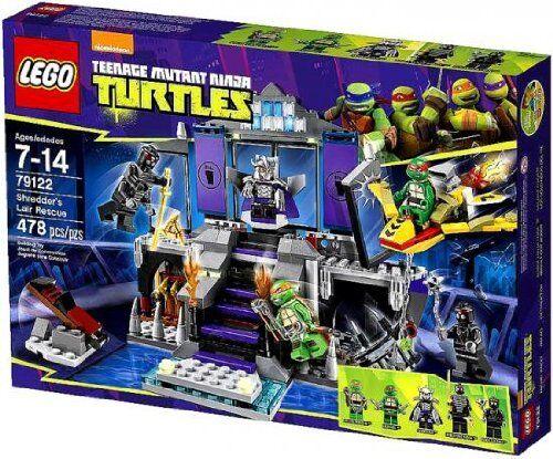 NIB Sealed LEGO Teenage  Mutant Ninja Turtles 79122 Shrougeder's Lair Rescue  garantie de crédit