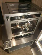 Roland Egx 360 Gift Engraving Machine Inside Ring Engraver Diamond Cutters