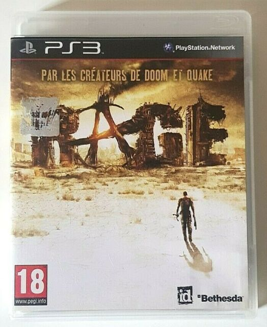 RAGE - PlayStation 3 PS3 - Complet