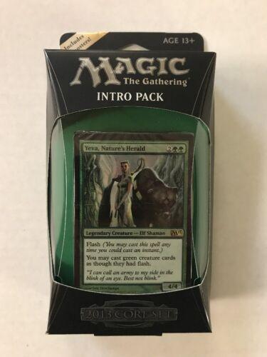 Magic The Gathering 2013 Wild Rush Theme Deck Black Green MTG Intro  M13
