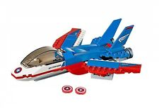 LEGO CAPTAIN AMERICA'S JET NO MINIFIGURES/BOX Super Heroes Pursuit Plane 76076