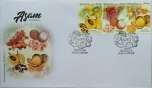 Malaysia-FDC-with-Stamps-19-06-2019-Sour-Fruits