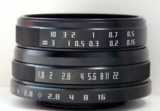 NEW Wesley 24mm F1.8 Macro MC Lens for  Fujifilm X Mirrorless Camera XT1 XE XA X