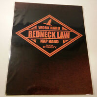 Duck Dynasty-redneck Law-tin Metal Wall Sign-11x14 And Free Shipping