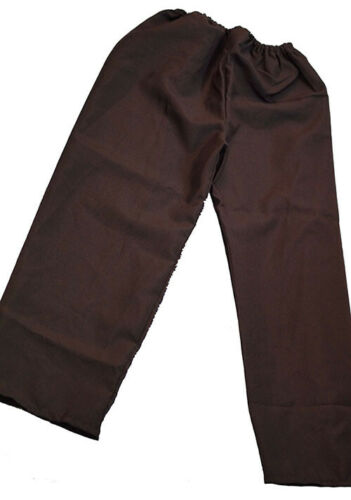 Boys Oliver//Urchin Beggar//Shows//Pirate//Buccaneer BROWN TROUSERS//PANTS 3 Sizes