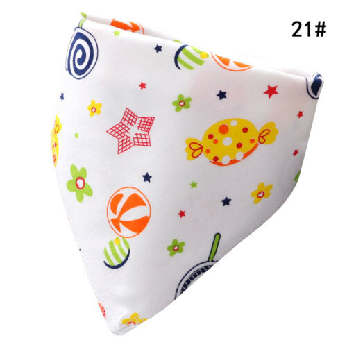 Doppelte Druckknopf Baumwolle Dreieck Handtuch Für 0 ~ 36 Monate Baby