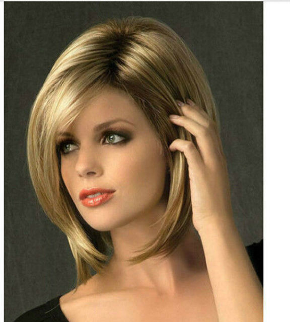 Sion Modelle Mode Perücke Neue Frauen Schließen Blonde Volle Perücken