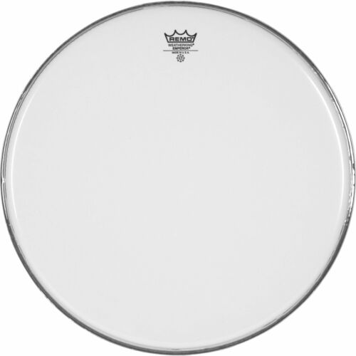 Smooth White Coated 18 Diameter Remo Snare Drum//Tom Heads : Emperor