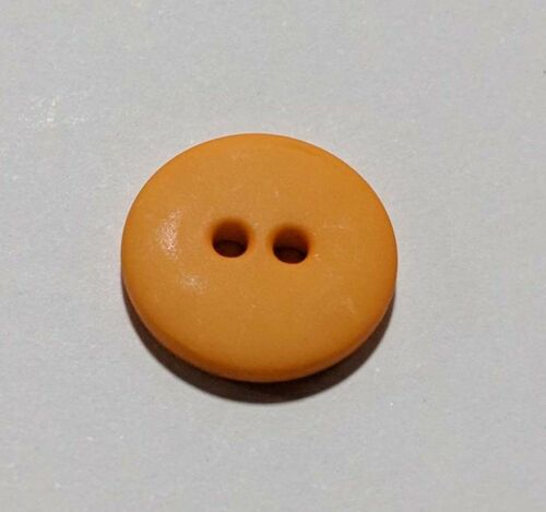 15mm // 5//8 inch Set of 2 Round 2 Hole Plastic Button Dill Buttons