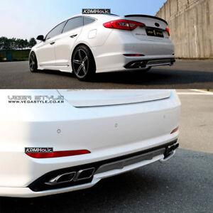Image Is Loading Fnb Vega Style Rear Diffuser Lip For Hyundai