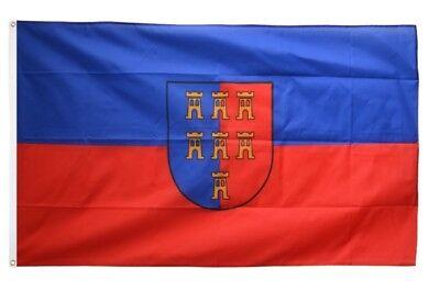 Sachsen Anhalt Flagge 90x60 cm wetterfest Fahne Ösen Innen Außen Hissflagge Flag