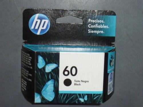 HP 60 Black Ink Cartridge CC640WN cc640wl Genuine New