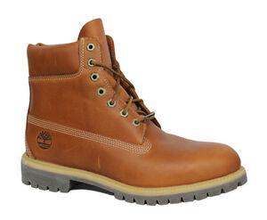 Premium Cuero Mens T2 Inch Timberland 6558a marrón con Af 6 Boots cordones U65 YIxI4t