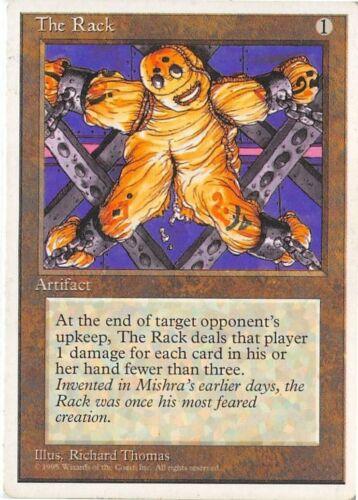 The Rack *Uncommon* Magic MtG x1 Fourth 4th Edition MP