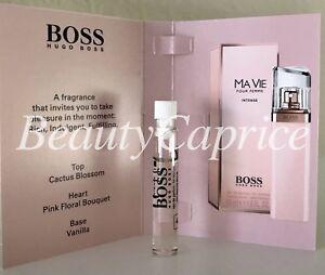 1 Sample X15ml Boss Ma Vie Pour Femme Intense Hugo Boss Eau De