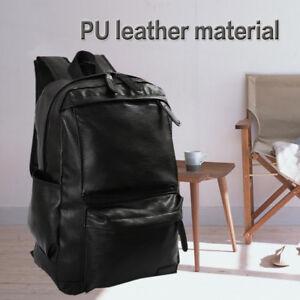 abcd3881e4 Sac à dos en cuir grand sac de voyage sacoche d'ordinateur portable ...