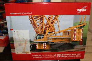 Herpa-076722-Kit-de-montage-Derrick-pour-Liebherr-Grue-sur-chenilles-LR-1600-2-1