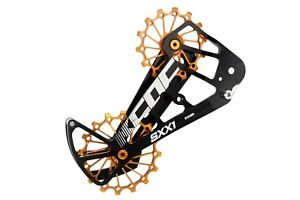 KCNC-SXX1-MTB-Bicycle-Bike-Oversized-Pulley-Wheel-OSPW-for-Sram-Eagle-XX1-Gold