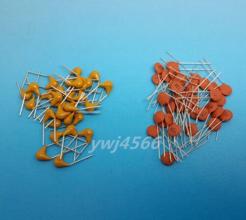 5 Kinds 100Pcs 50v Ceramic Capacitors 101,102,103,104,105  Each 20 Kit New