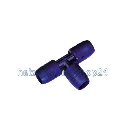 1 T-Stück smartFix Steckfitting Verbundrohr 16 x 2,0mm Wavin