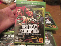 Red Dead Redemption Game Of The Year Edition Xbox One & Xbox 360 Sealed
