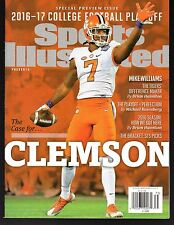 Sports Illustrated 2016-17 Clemson Tigers National Champions No Label NR/Mint