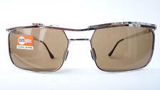 Vintage Sonnenbrille Orginal 60s Herren Metall silber Rarität echtes Glas size M